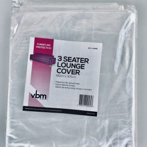 3 Seater Lounge Chair Plastic Cover